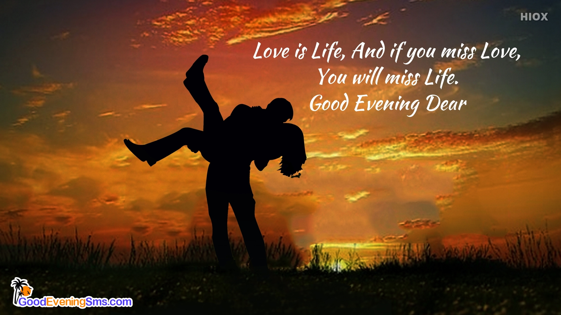 Good Evening Dear Love Quotes