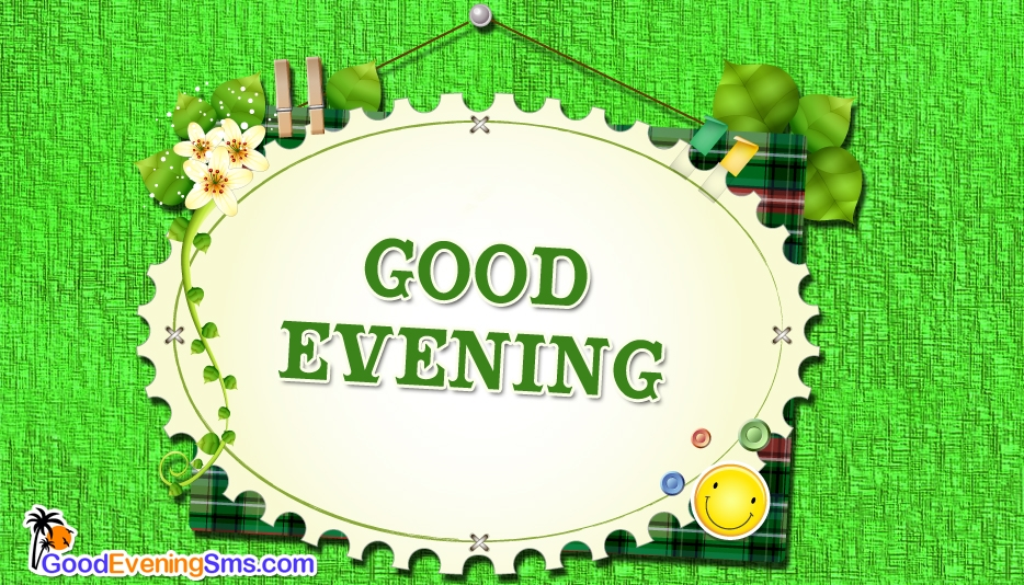 Good Evening with Smile  - Good Evening SMS for Facebook