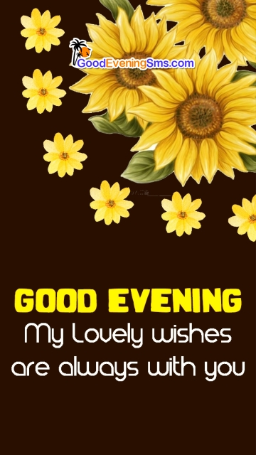Good Evening Yellow Flower Image