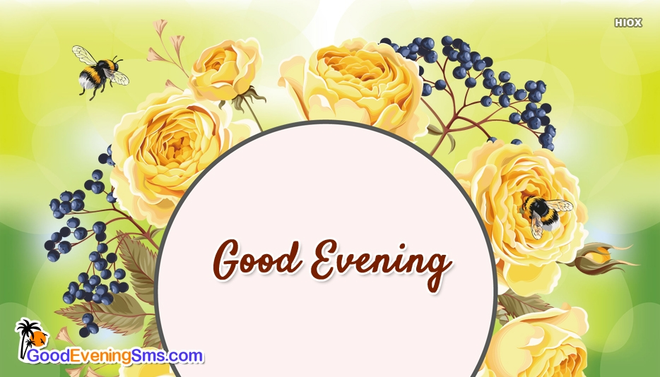 Good Evening SMS for Beautiful