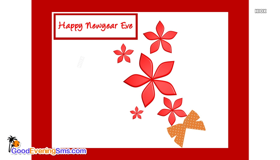 Happy New Year Eve Clip Art Image