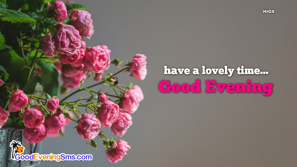 Good Evening SMS for Lovely Time