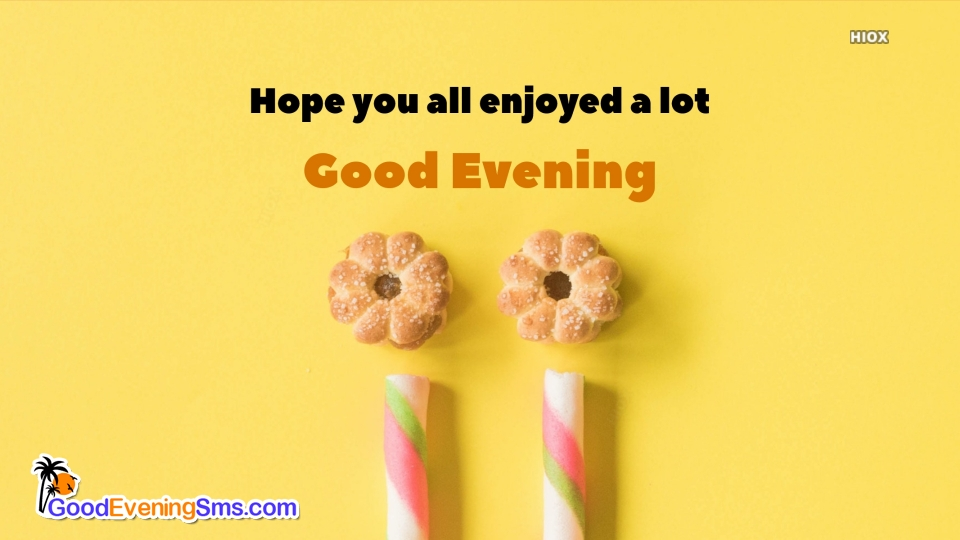 Good Evening SMS for Evening Greetings