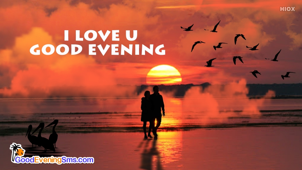 I Love U Good Evening Image