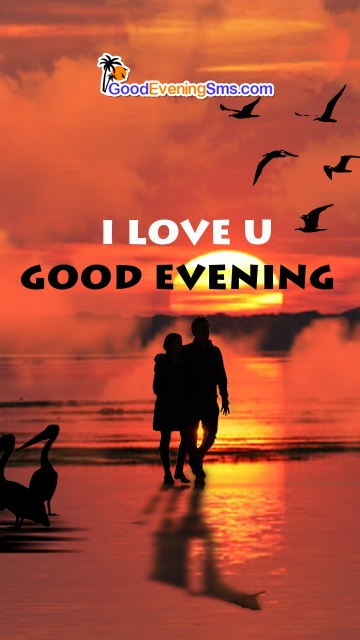 I Love U Good Evening Image