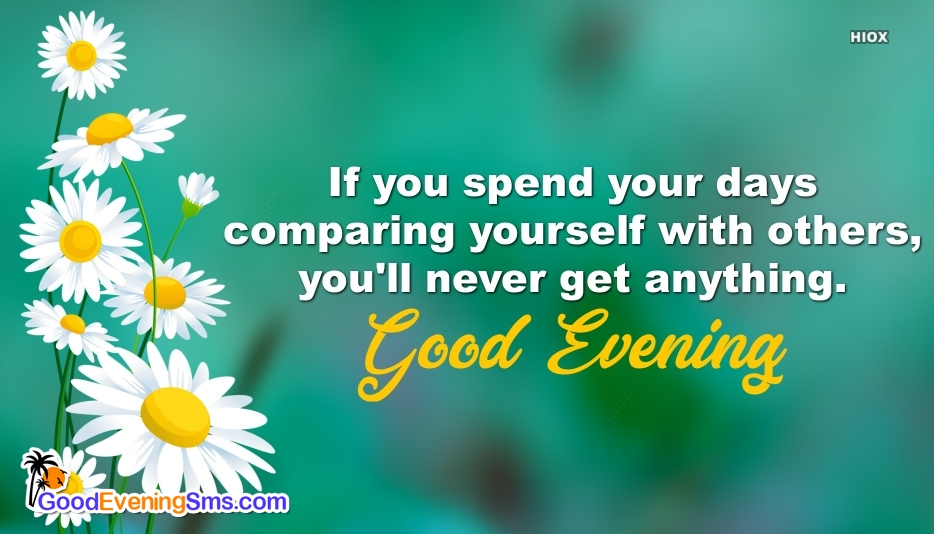 Best Inspiring Quotes With Good Evening Wishes