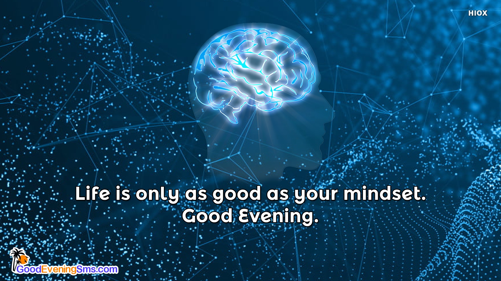 Life is Only As Good As Your Mindset. Good Evening.