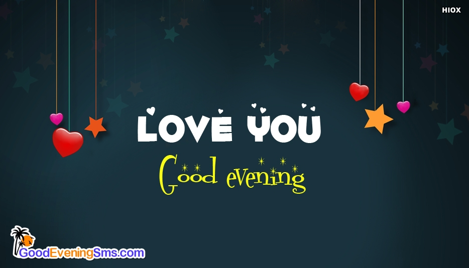 Love U Good Evening Image