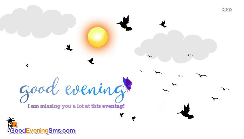 Good Evening SMS for Sad