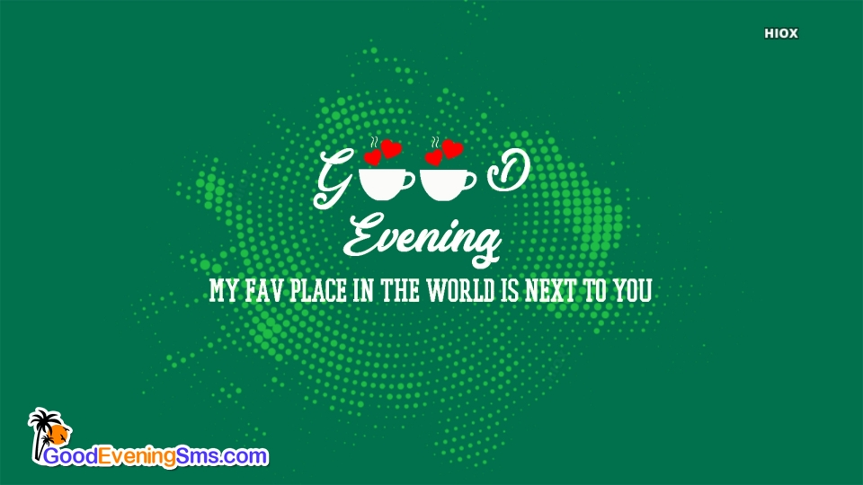 Good Evening SMS for For Her