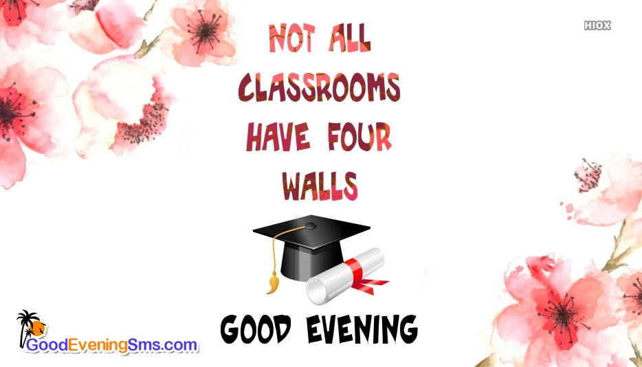Good Evening SMS for Degree