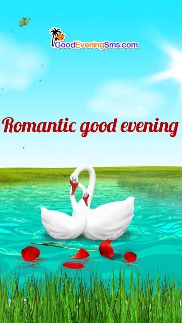 Romantic Good Evening Wishes
