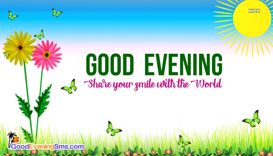Smile Good Evening Quotes