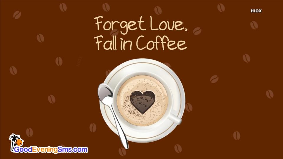 Good Evening SMS for Latte Art