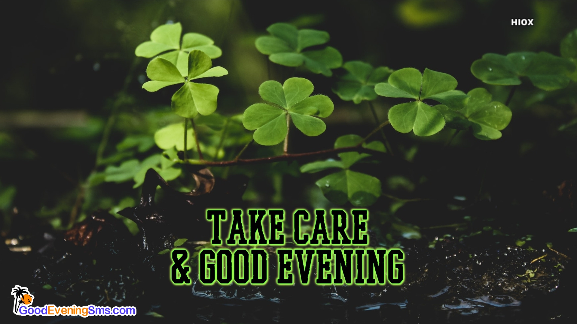 Take Care & Good Evening