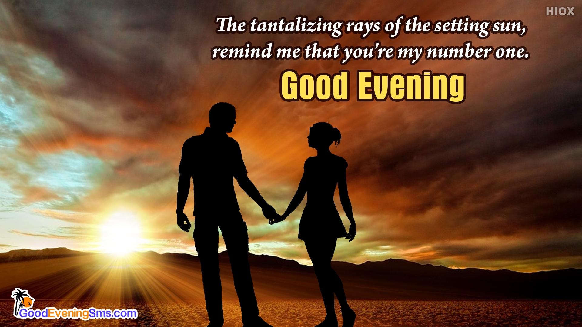 Cute Good Evening Love Message