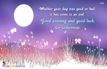Positive Good Evening Sayings