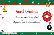 Special Evening Greetings Quotes