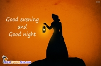 Good Evening And Night