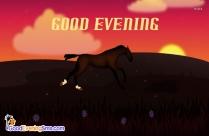 Good Evening Animated