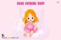 Good Evening Baby Images