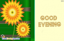 Good Evening Card