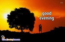Good Evening Romantic Image