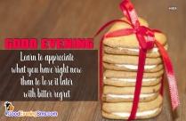 Good Evening All. Lets Enjoy