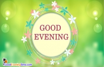 Good Evening SMS for Friends