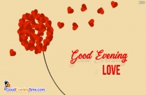 good evening heart images hd