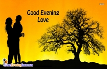 A Simple Good Evening Becomes A Special Greeting When Someone So Dear It Is Heartily Given