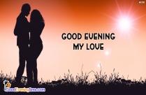 Good Evening Love Greetings