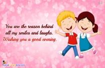 Love Good Evening Message