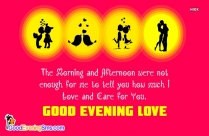 Good Evening Sms To Her
