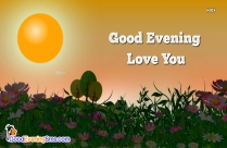 Good Evening Love Photo