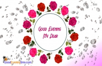Good Evening Dear I Love You Message