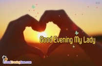 Good Evening Princess Image