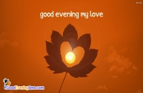 Good Evening My Love Image