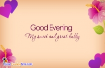Good Evening Heart Image
