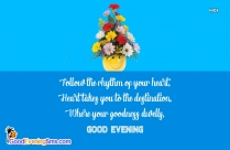 Good Evening Quotes With Image