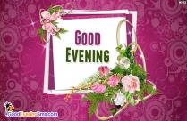 Good Evening Flower Images