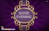 Good Evening Purple