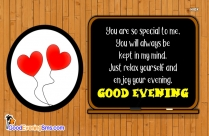 Good Evening Love Wishes Pic