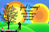 Romantic Good Evening Quotes