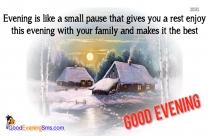 Happy Saturday Good Evening