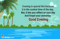 Evening Time Quotes
