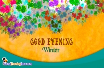 Good Evening Winter Image