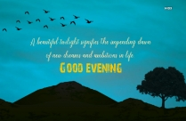 Evening Wishes With Motivation