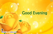 Good Evening My Angel Ecards