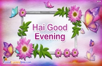 Good Evening Messages